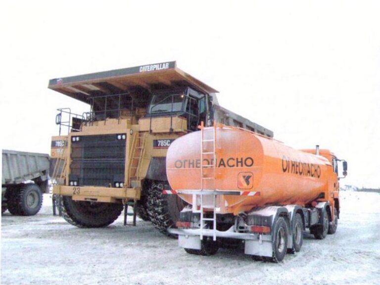 Tankwagen Bild